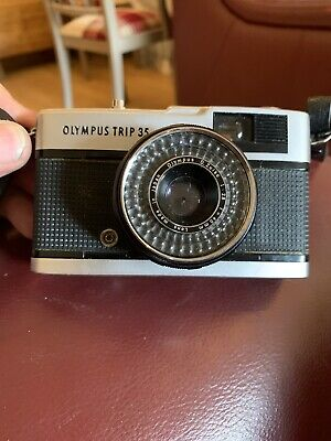 Olympus Trip 35mm Compact Film Camera - Great condition, With Case