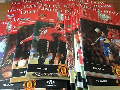 MANCHESTER UTD     FC   HOMES  1998 - 1999    BUY IT NOW  99p  EACH   ALL LISTED