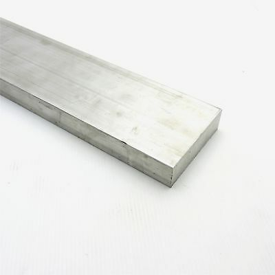 "1"" x 3.5"" Aluminum Solid 6061 FLAT BAR 47.875"" Long new mill stock sku A146"