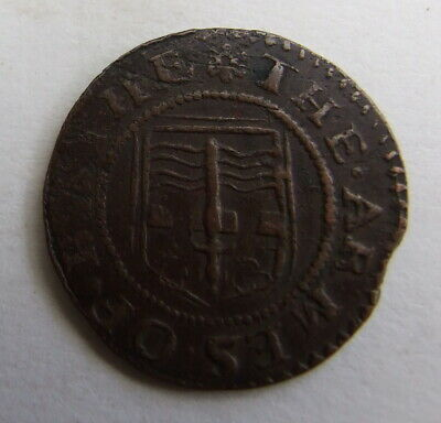 Cracking 17th Century Town Farthing Traders Token