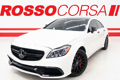 2017 Mercedes-Benz CLS-Class CLS 63 S 2017 Mercedes-Benz CLS 63 S AMG 4MATIC CUSTOM ($119K MSRP) BLACK OUT PACKAGE