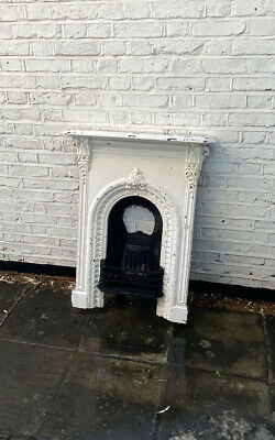 Authentic Victorian Cast Iron Fireplace