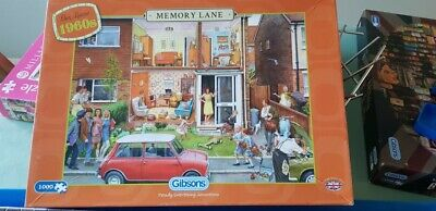 Gibsons 1000 piece jigsaw puzzle 'Memory Lane - Our House 1960's'