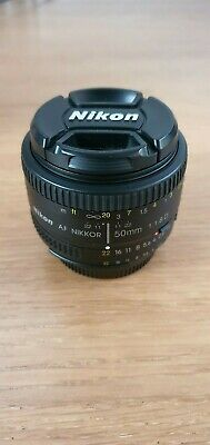 Nikon AF Nikkor 50mm f/1.8D Used Good Condition