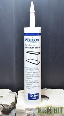 Aqueon Silicone Aquarium Sealant - Clear - 10.3 oz - Aquarium Sealant