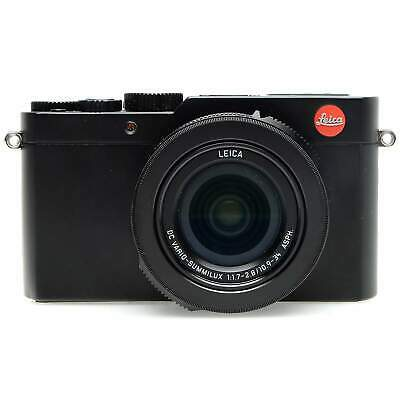 Leica D-Lux (Typ 109) Compact Digital Camera, Black (Boxed)