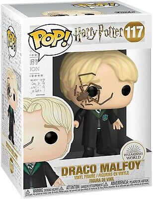 Funko - POP Harry Potter - Malfoy w/ Whip Spider Brand New In Box