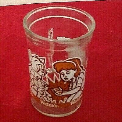 1993 Welch's Jelly Jar Tom & Jerry   The Movie