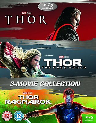 THOR 3 Movie Collection BLU-RAY Set NEW 2018