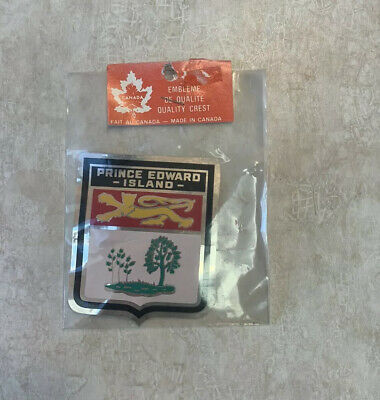 New Still In Package Prince Edward Island Sticker Decal