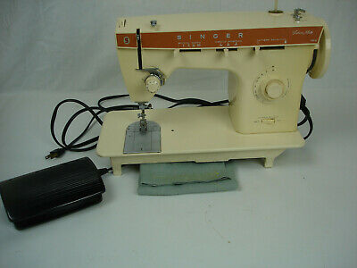 Singer 362 Electric Sewing Machine, Fashion Mate, with pedal, Working ZigZag