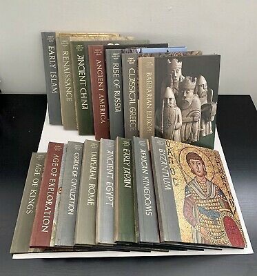 Great Ages Of Man Collection Time Life Books
