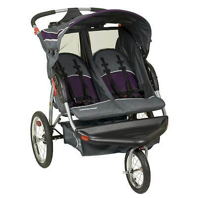 Baby Trend Lightweight Expedition Double Jogger Stroller, Elixer | DJ96715R