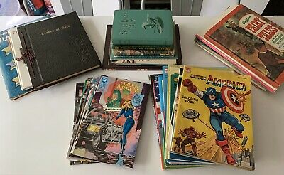 Large Collection Of 40 Vintage & More Books- Unique Items From 1930s-2000s
