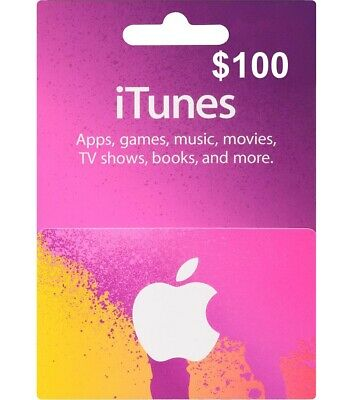 $100 Brand New Itunes card for $90 or BEST OFFER