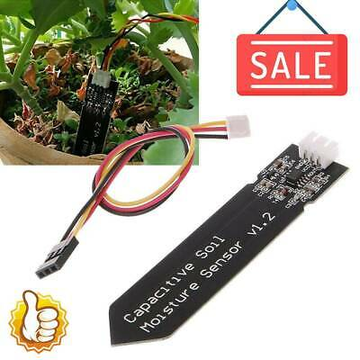 Analog Capacitive Soil Moisture Sensor V1.2 Corrosion Resistants With Cable Wire