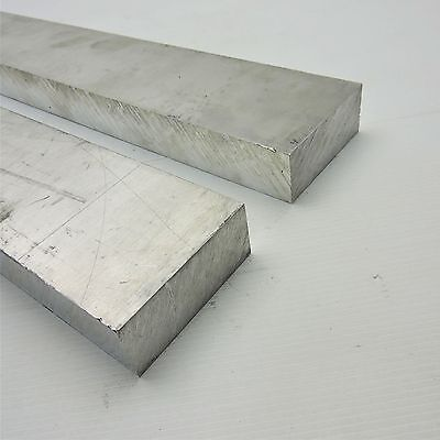 ".875"" thick 6061 Aluminum PLATE  2.875"" x 26.5"" Long QTY 2 Flat Stock sku140946"