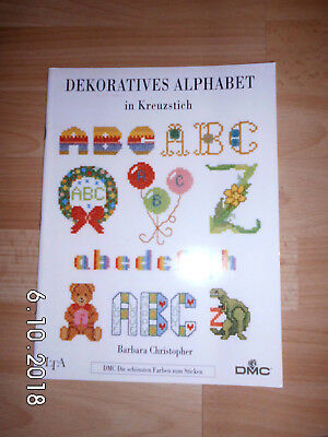 Dekoratives Alphabet  in Kreuzstich   Barbara Christopher