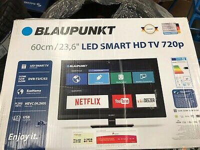 """Blaupunkt 24"""" inch HD Ready 720p LED Smart TV with Freeview HD - 236-207M"""