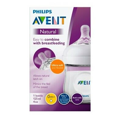 Philips AVENT 125 ml Natural Newborn Feeding Wide Neck Bottle Fast Dispatch