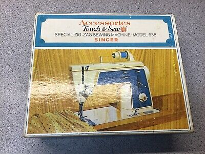 Singer Accessories Touch & Sew Zig-Zag  Sewing Machine Model638 Part No 161928