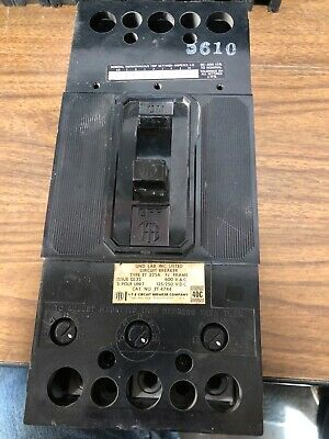 ite circuit breakers, 600 vac, 3 pole, 150 amp