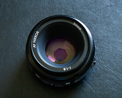 Nikon AF NIKKOR 50mm F/1.8 Ai Lens - Tested and good working condition.