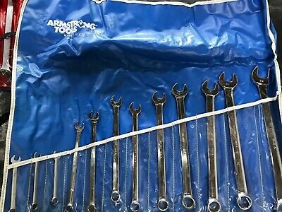 Armstrong Combination Wrenches 12 Point  Metric Set - 7 mm to 22 mm