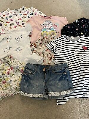 girls clothes bundle 7-8 years Summer 8 Items
