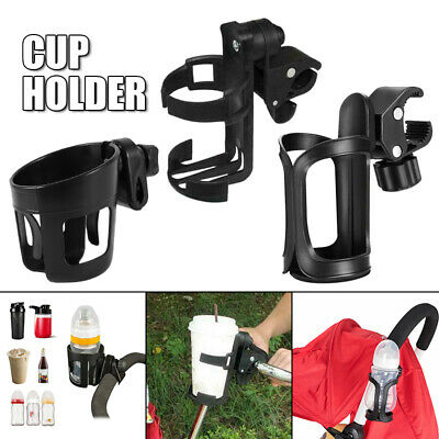 Universal Black Baby Stroller Parent Organizer Motorcycle Bicycle Cups Holder