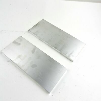 ".625"" thick  5/8  Aluminum 6061 PLATE  5.875"" x 14"" Long QTY 2  sku 175638"