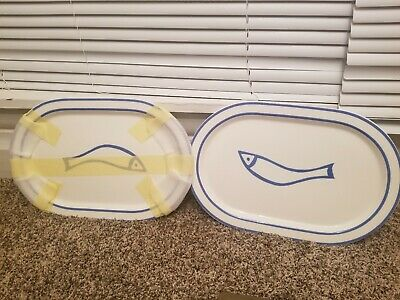 "Villeroy Boch Marisca Set of 2 14"" platterVery very rare piece's!!!!"