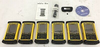 Lot of 6 Trimble Nomad 900 Data Collector - See Description