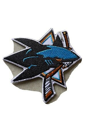 🇨🇦 NHL SAN Jose Sharks Embroidered Patch  Sew On/stick On /new 🇨🇦
