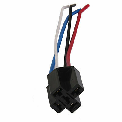 12V 40A 4 Pin Car Wire Relay Harness Socket Heavy Duty SPDT Normally Closed