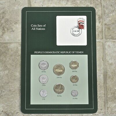 Franklin Mint Coin Sets Of All Nations, People's Democratic Republic Of Yemen