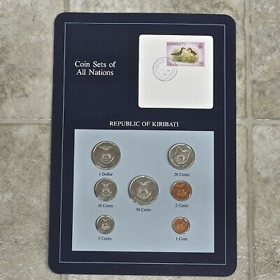 Franklin Mint Coin Sets Of All Nations, Republic of Kiribati