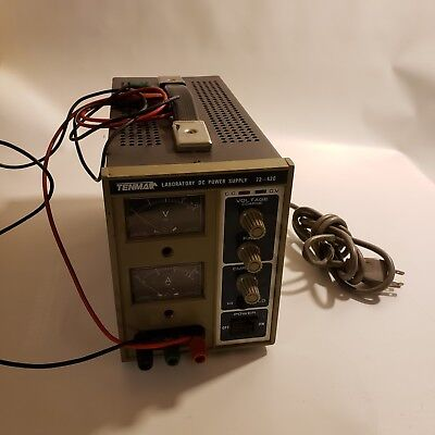 Tenma Laboratory DC Power Supply 72-420 Powers on