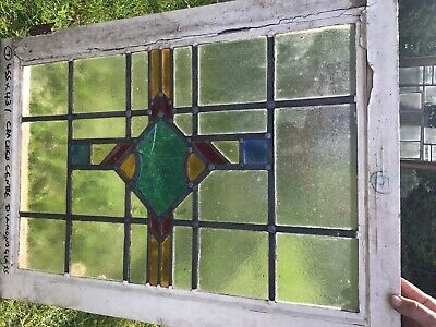 1930's stained glass windows