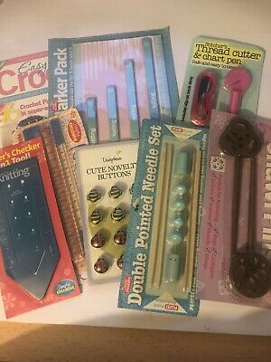 Knitting Needles & Accessories From Magazines - Craft Clearout - Job Lot