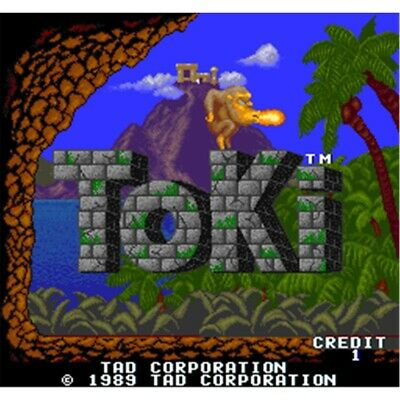 pcb jamma TOKI 1989 Originale TAD CORPORATION