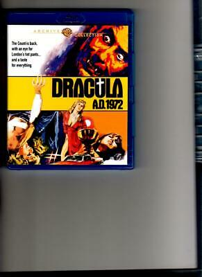 Dracula Ad 1972 Hammer Archive Collection Blu-Ray- Region Free
