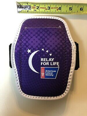 Relay for life/American Cancer Society arm band for running/exercising