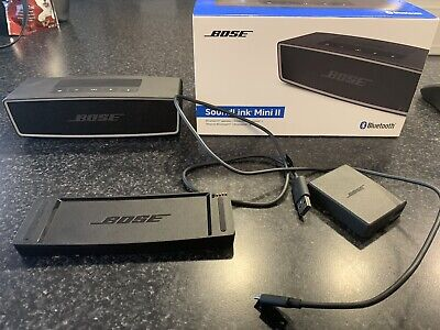 Bose SoundLink Mini II Bluetooth Speaker - Carbon GREAT Condition