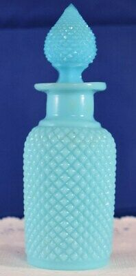 French PORTIEUX VALLERYSTHAL Turquoise SCENT or PERFUME Bottle $10!