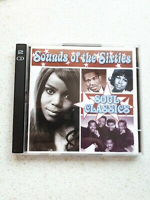 Cd Double Album - Time Life - Sounds Of The Sixties - Soul Classics