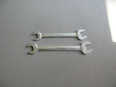 2 Snap On Open End Wrenches VO2022 VO2426 Sizes 5/8,11/16, 13/16, 3/4""