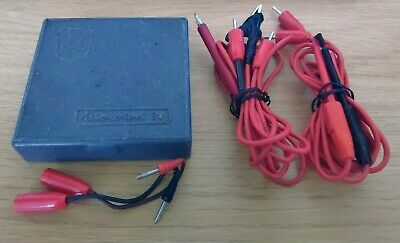ICE Milano Microtest 80 Vintage Analogue Multimeter With Cables