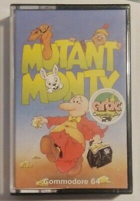 MUTANT MONTY - Rare Artic game - Commodore 64 (C64, C128) - TESTED - see pics