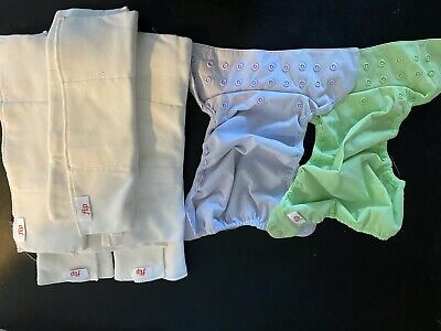 Flip Cloth Diaper Covers and Liners Lot